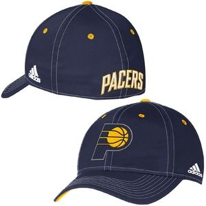 new Indiana Pacers Adidas Flex Hat Cap S/M